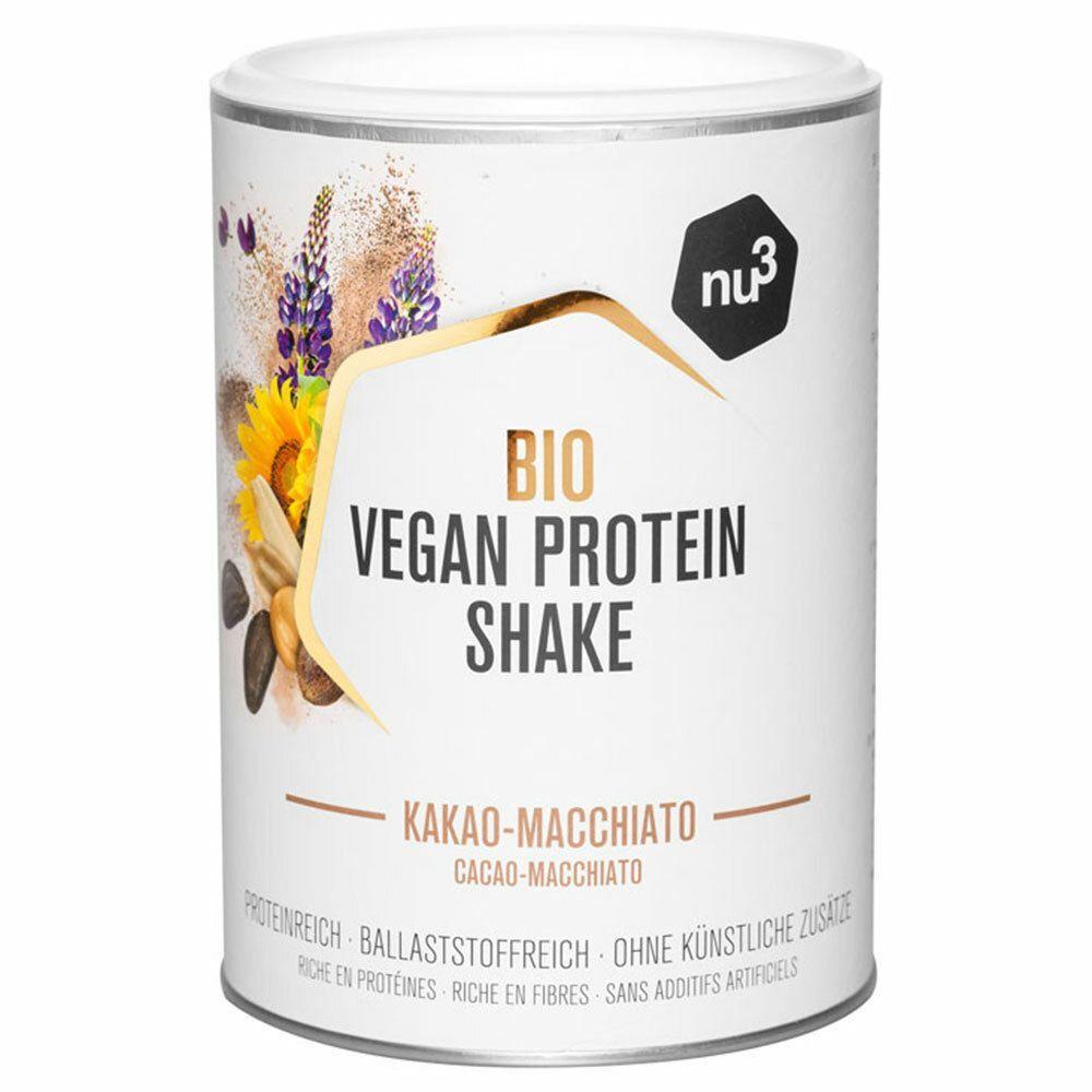 nu3 Shake Protéiné Vegan Bio Premium choco-macchiato g poudre