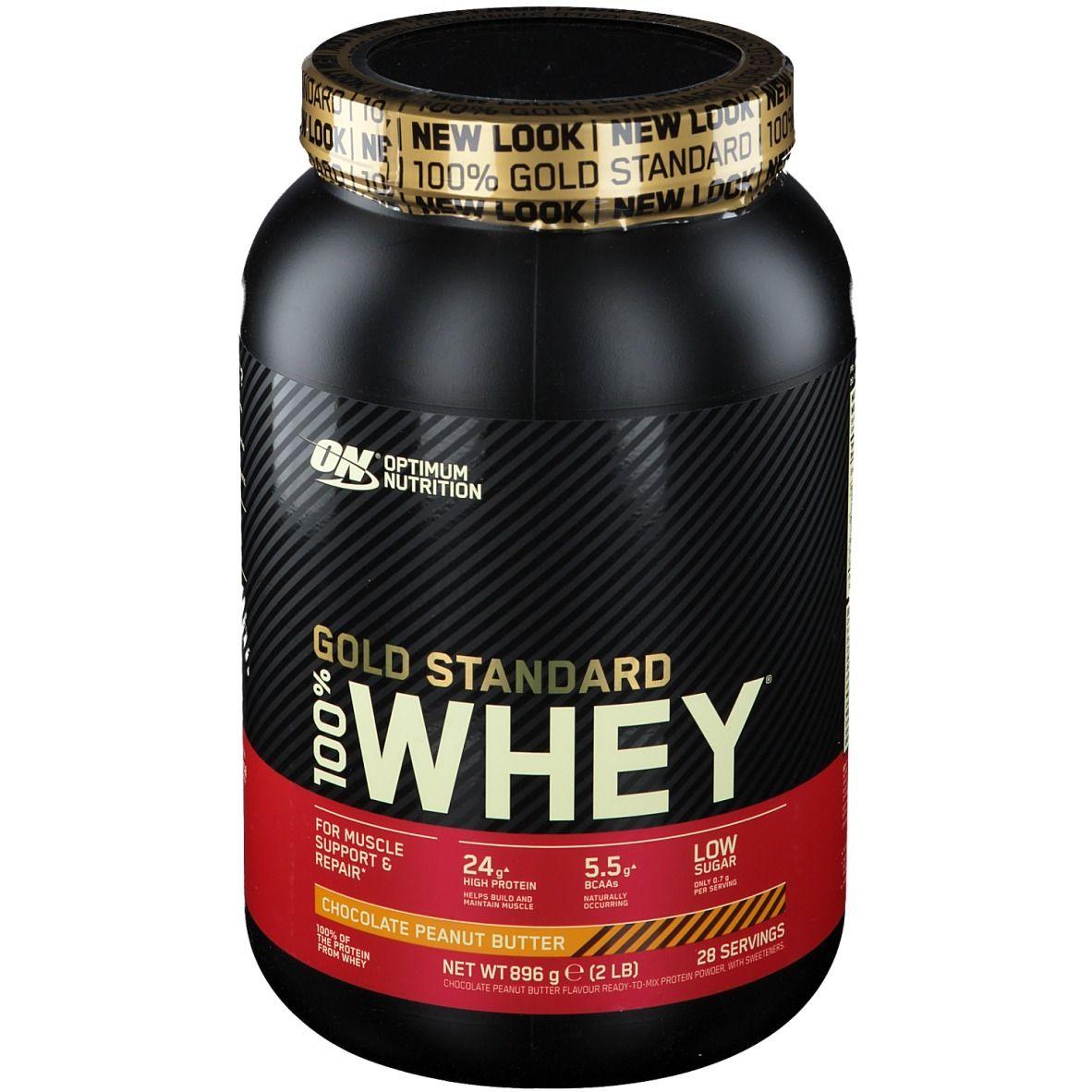 Optimum Nutrition 100 % Whey Gold Standard Chocolat-Beurre d'arachide g poudre