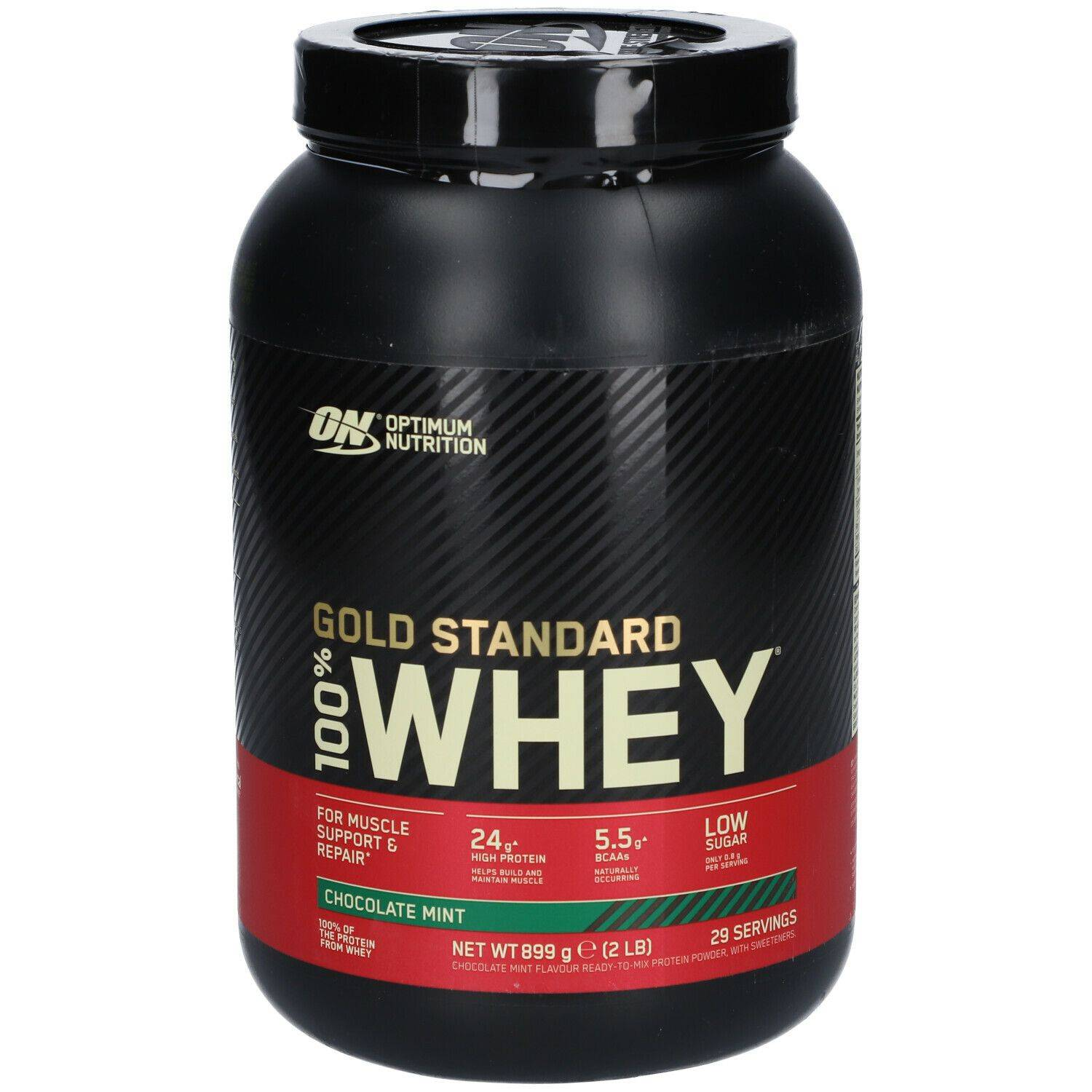 Optimum Nutrition 100 % Whey Gold Standard Chocolat-Menthe g poudre