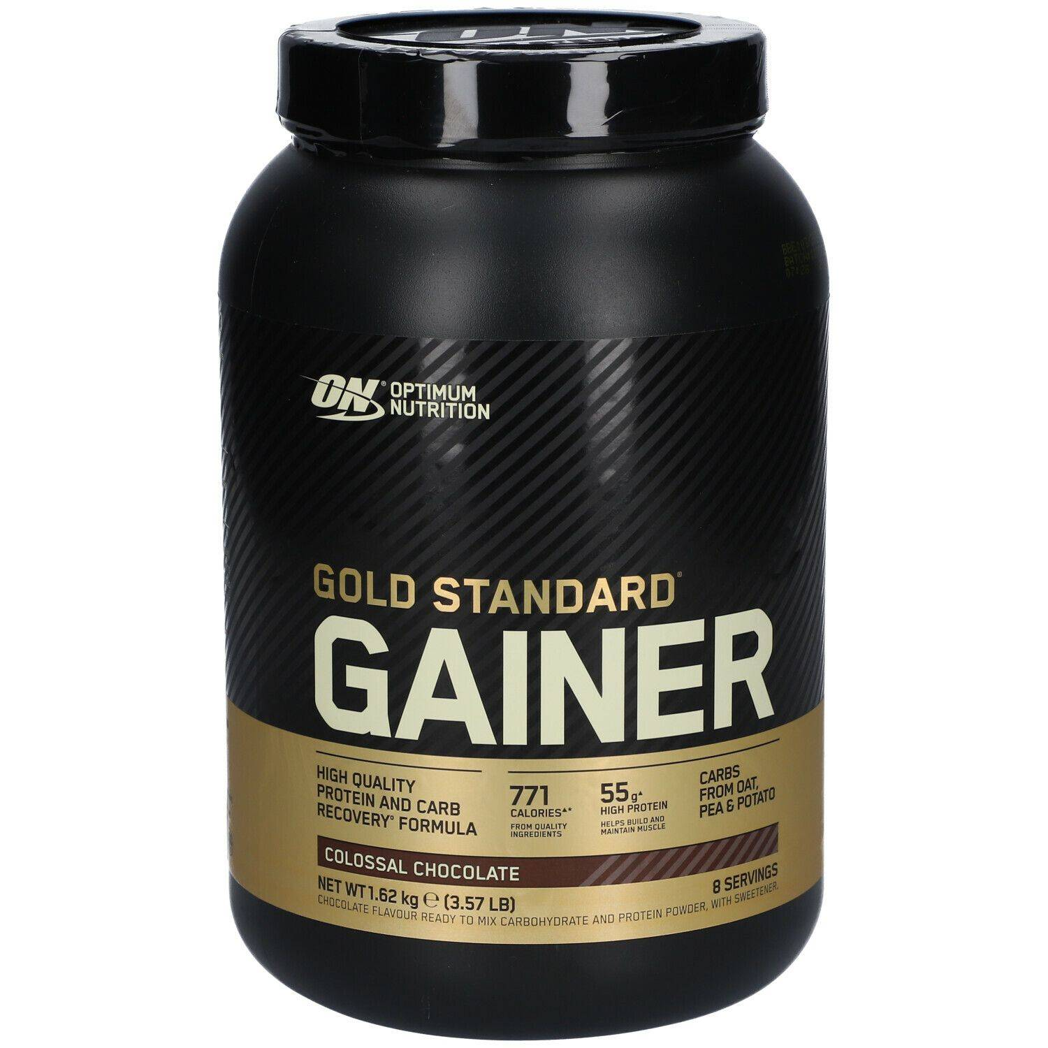 Optimum Nutrition Gold Standard Gainer, Colossal Chocolat g poudre