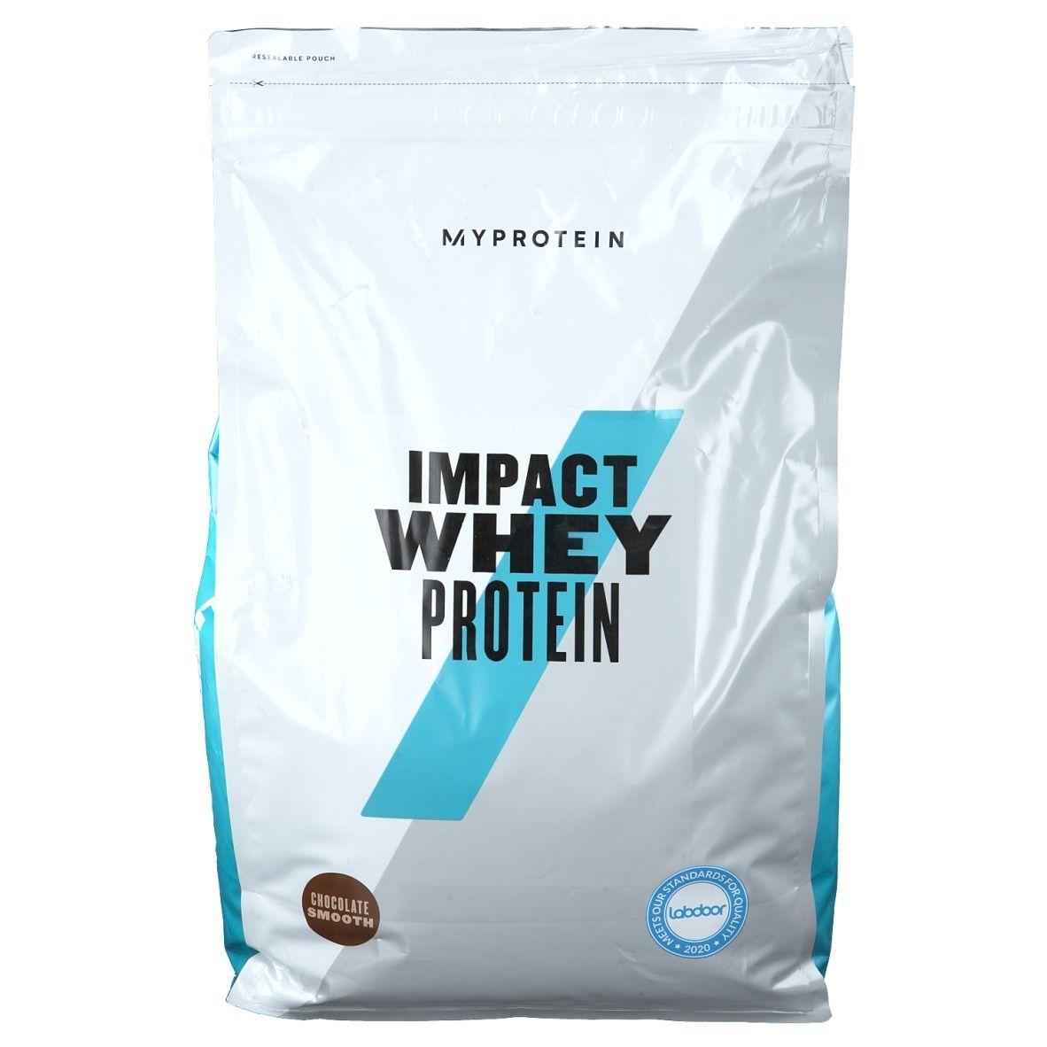 MyProtein® Impact Whey Protein Chocolat Smooth g poudre