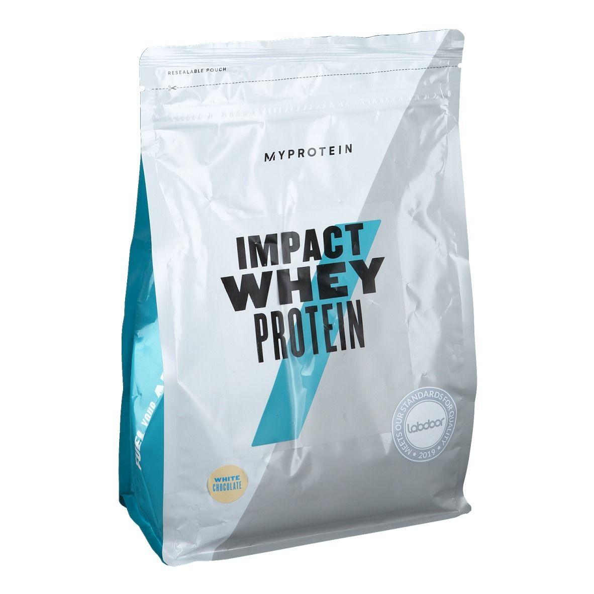 MyProtein® Impact Whey Protein Chocolat blanc g poudre