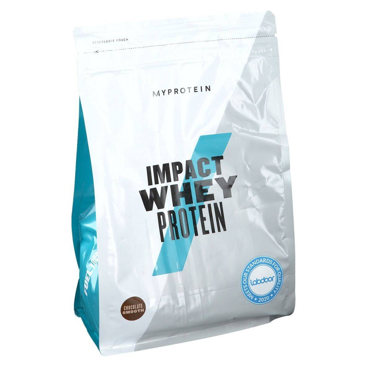 MyProtein® Impact Whey Protein chocolat onctueux g poudre
