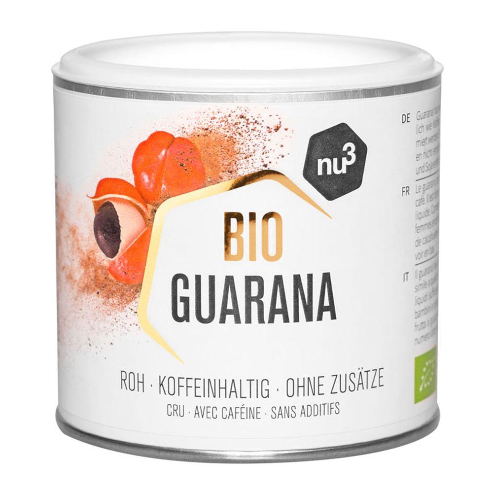 nu3 Poudre de Guarana bio g poudre
