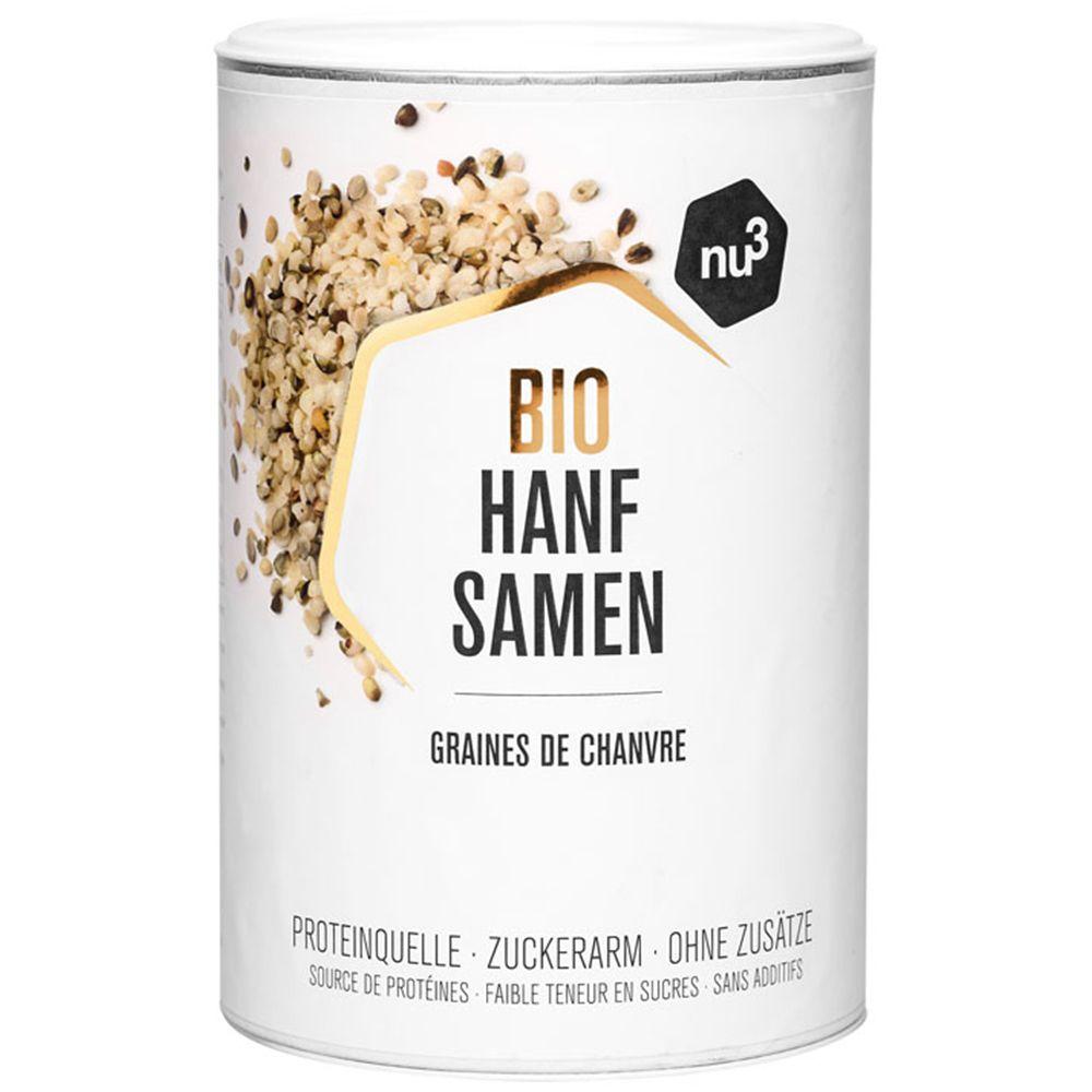 nu3 Graines de Chanvre bio décortiquées g semence