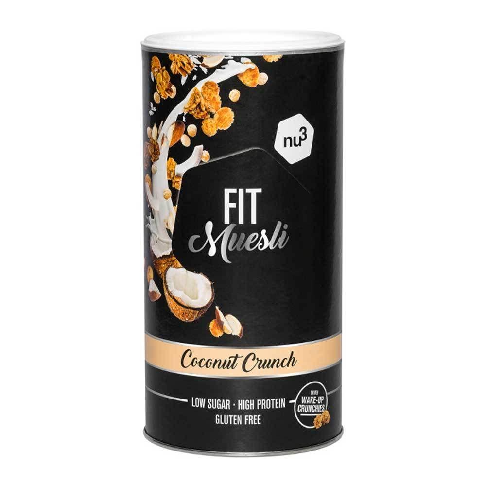 nu3 FIT Protein Muesli, Coconut Crunch g céréales