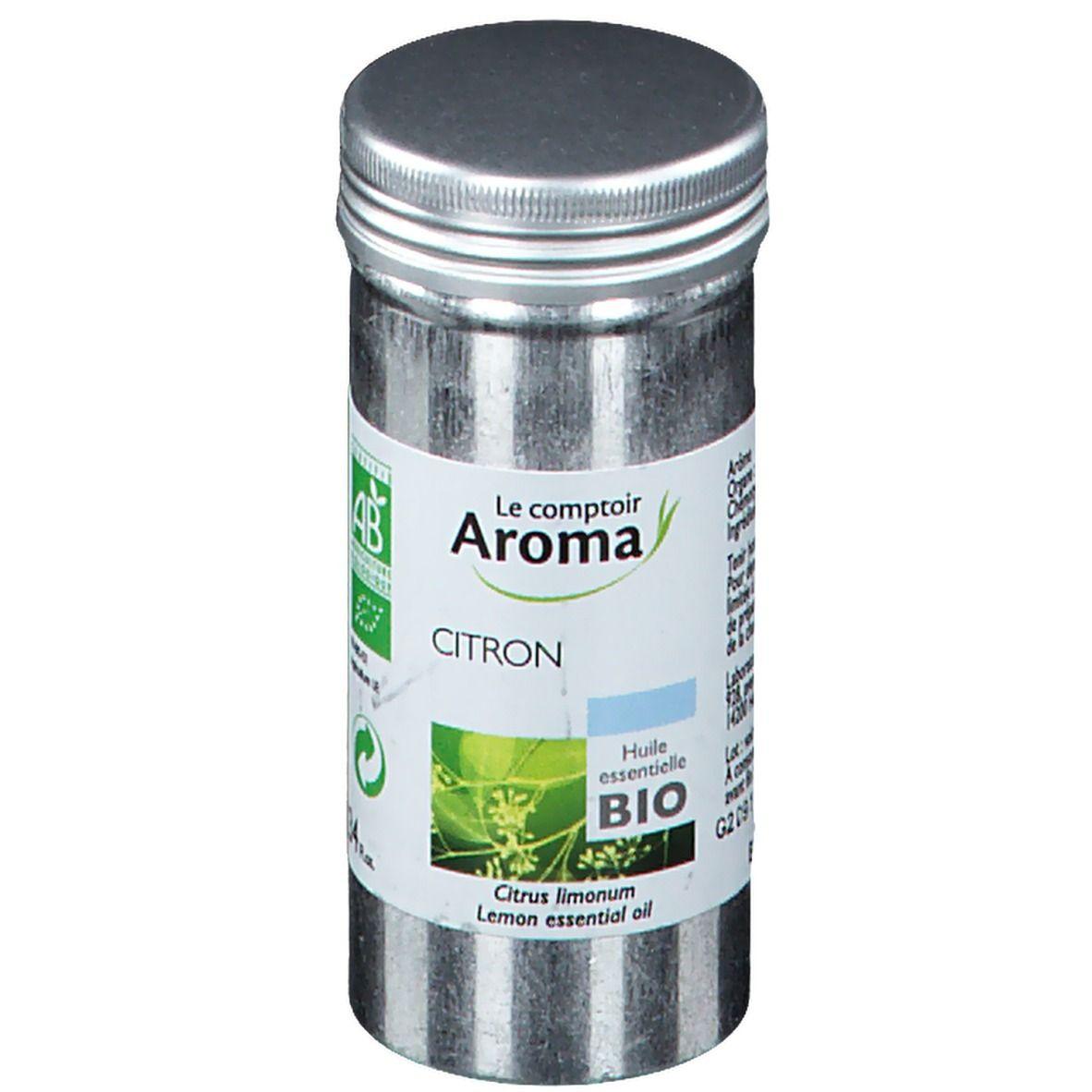 Le Comptoir Aroma huile essentielle bio citron ml huile