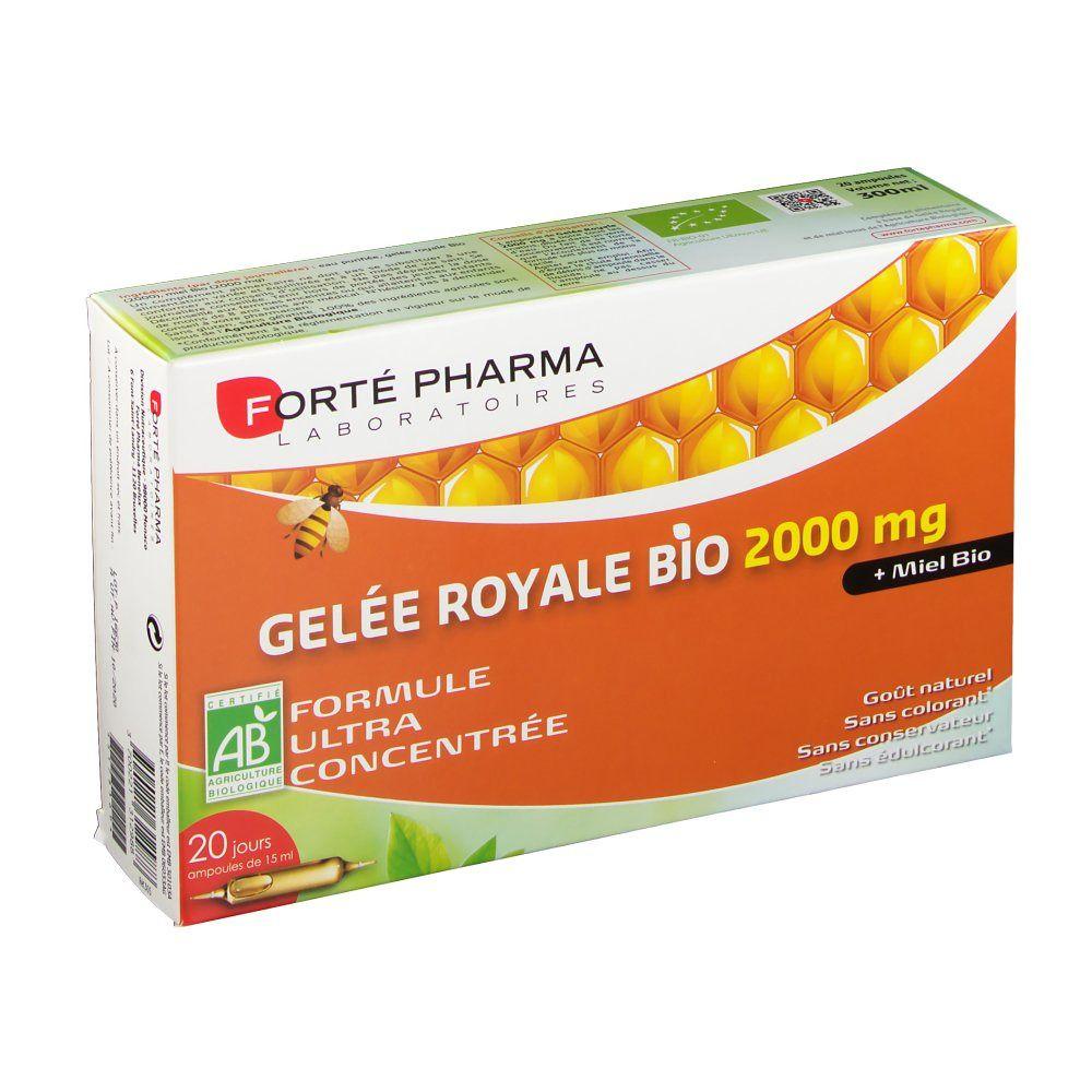 Forté Pharma Gelée Royale 2000 mg bio pc(s) ampoule(s) buvable(s)