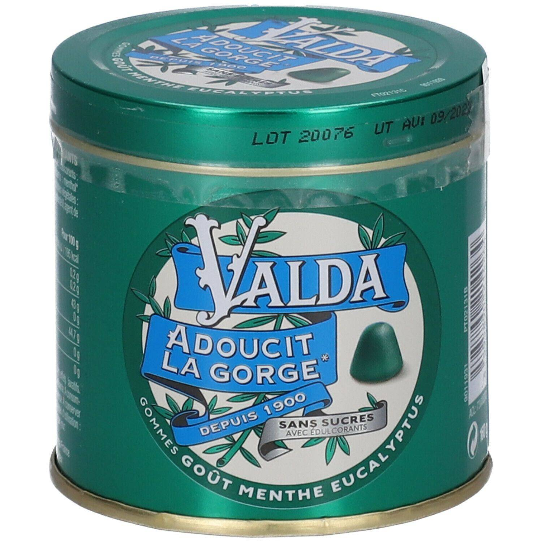 Valda Gommes à la menthe et eucalyptus sans sucre g chewing-gum(s)