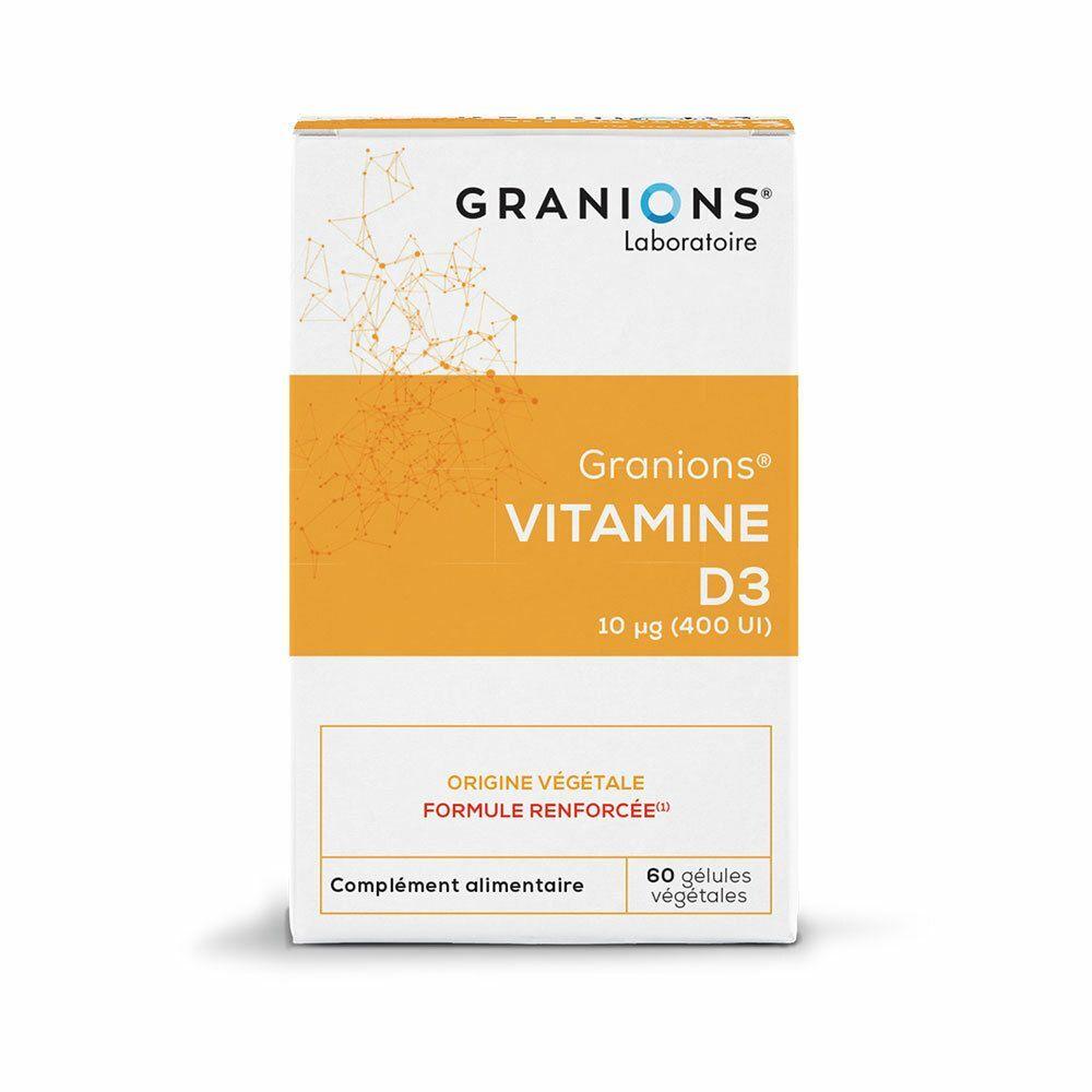 Granions® Laboratoire des Granions® Vitamine D3 végétale 10 µg pc(s) capsule(s)