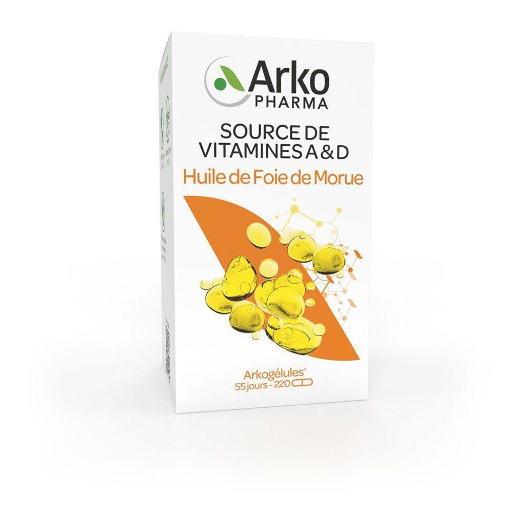 Arkogélules Arkopharma Arkogélules® Huile de foie de morue pc(s) capsule(s)
