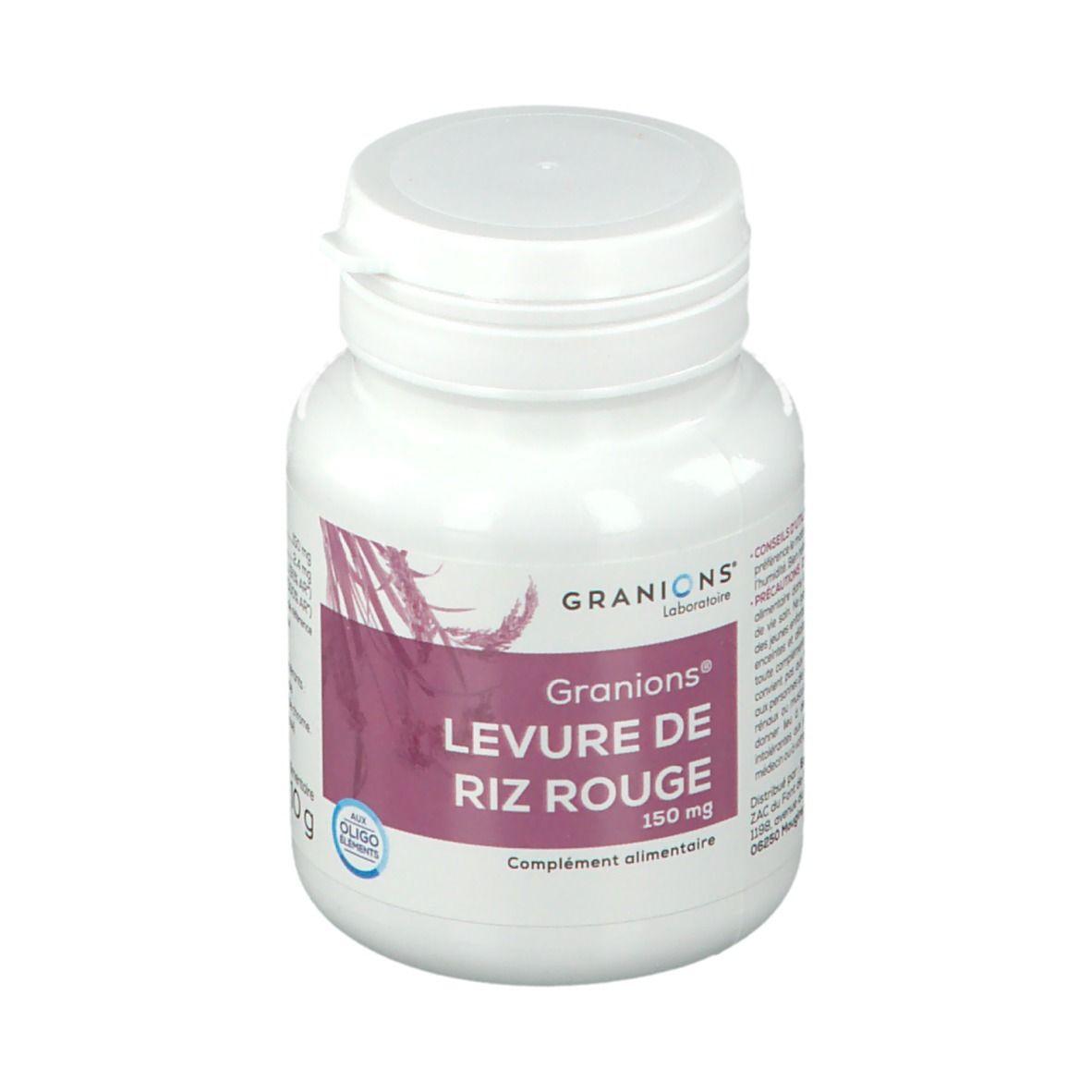 GRANIONS® Levure de Riz Rouge 150 mg pc(s) capsule(s)