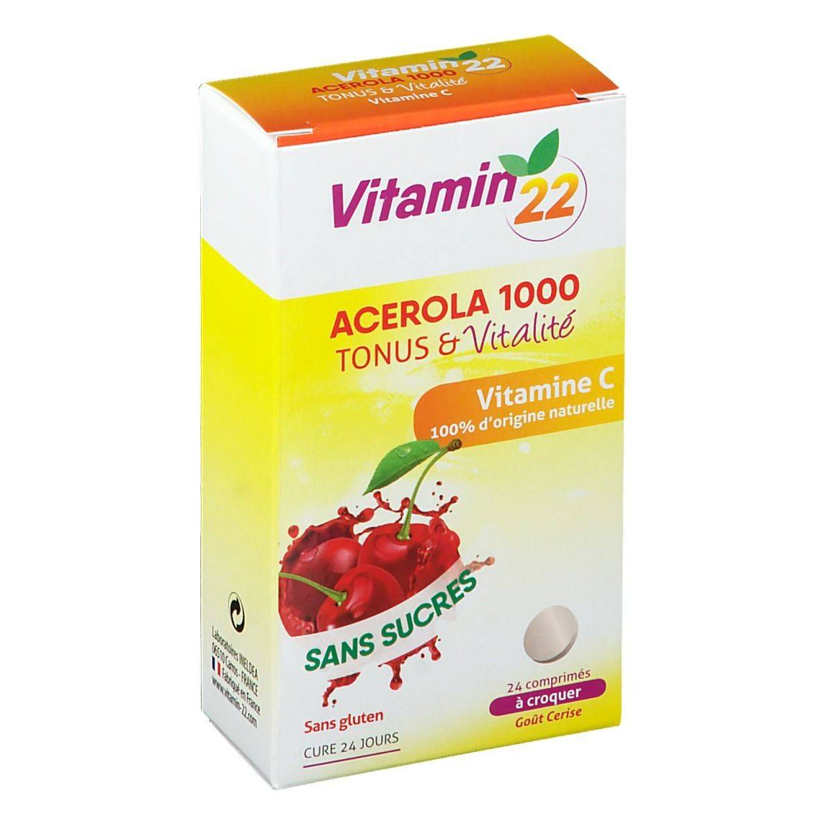 Ineldéa Vitamine 22 Acérola 1000 pc(s) comprimé(s)