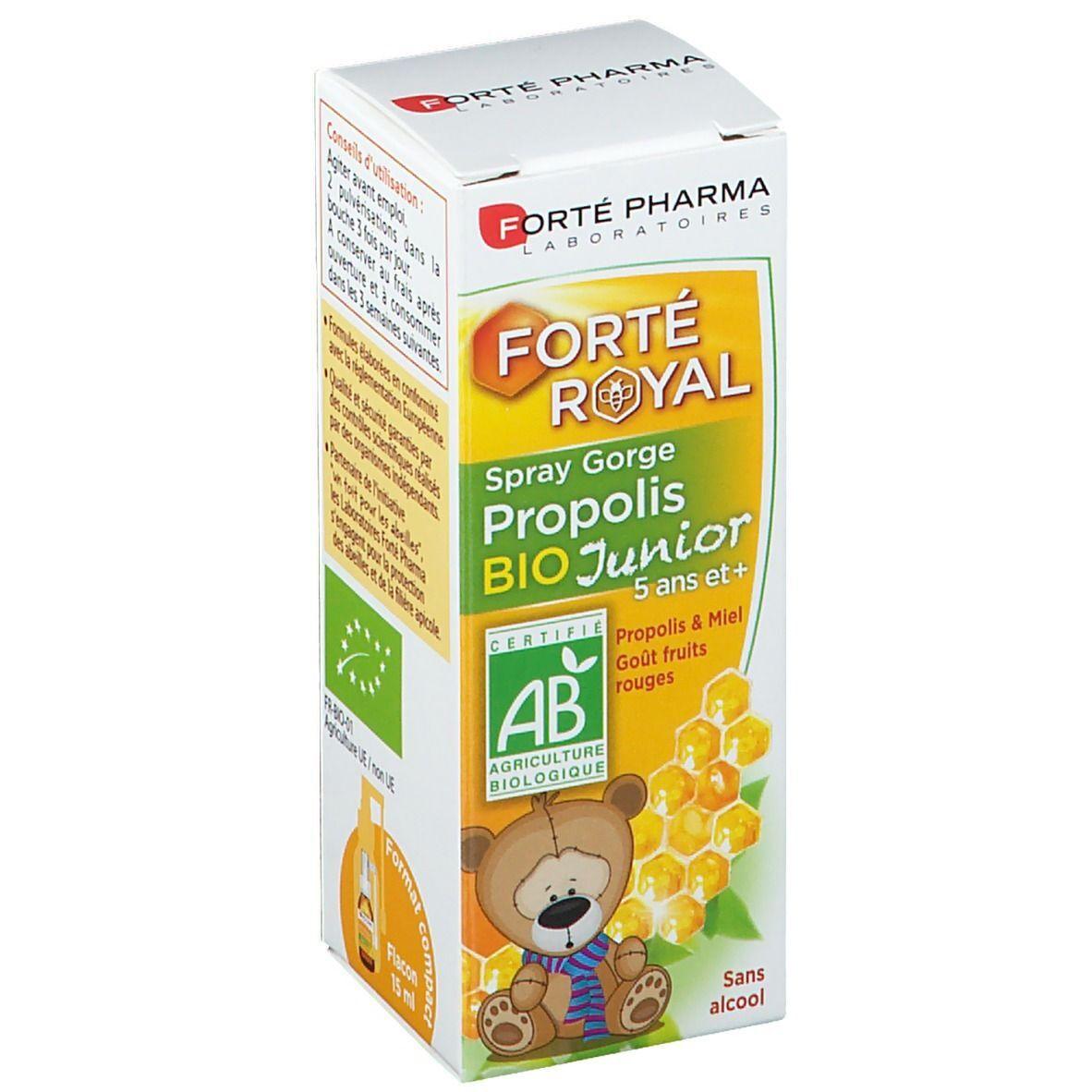 Forté Pharma Propolis Spray gorge Junior ml spray buccal