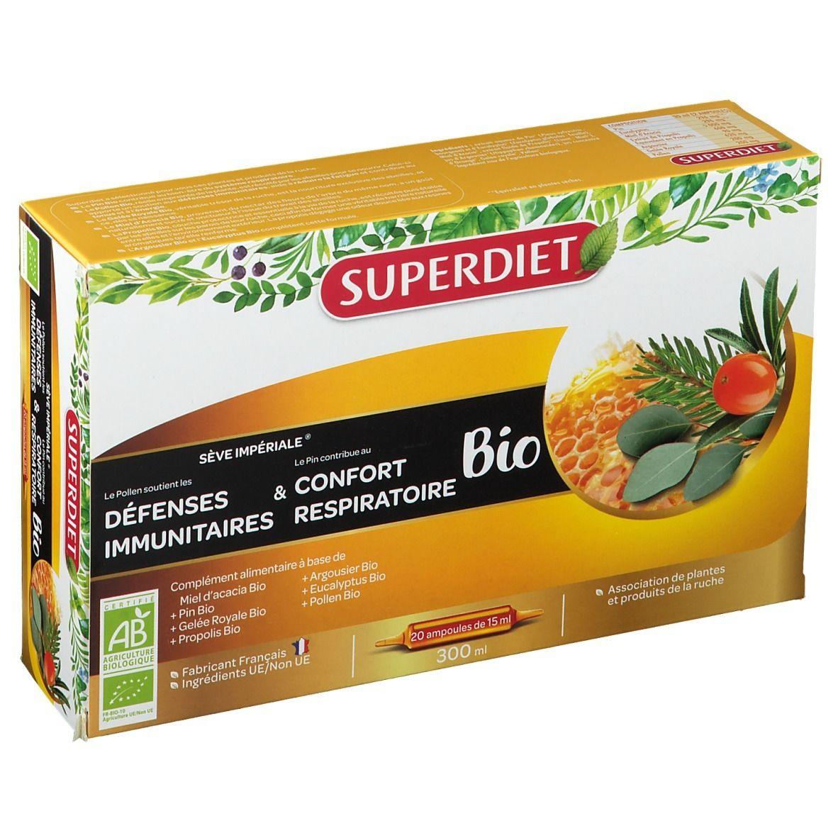 SUPERDIET Sève Impériale Bio Ampoule ml ampoule(s)