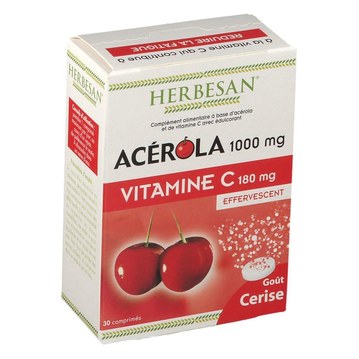 Herbesan® Acérola 1000 Effervescent pc(s) comprimé(s)