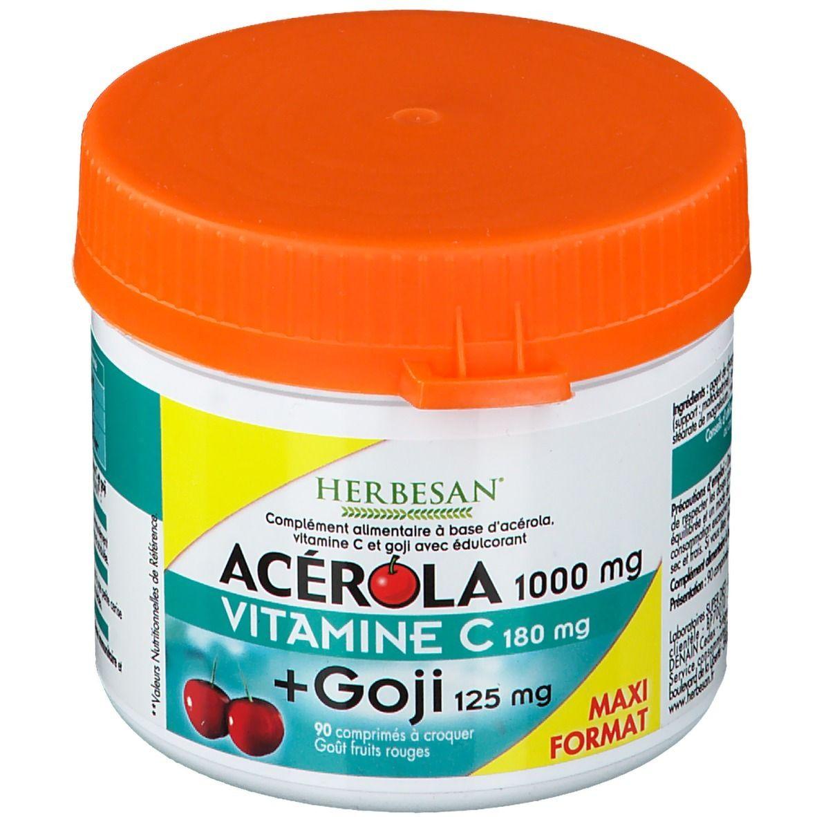 Herbesan® Acérola 1000 Goji pc(s) comprimé(s)