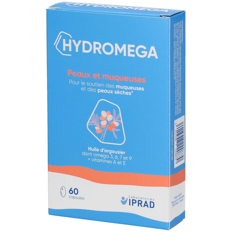 HYDROMEGA® Capsule, complément alimentaire à l'extrait d'huile d'argousier pc(s) capsule(s)