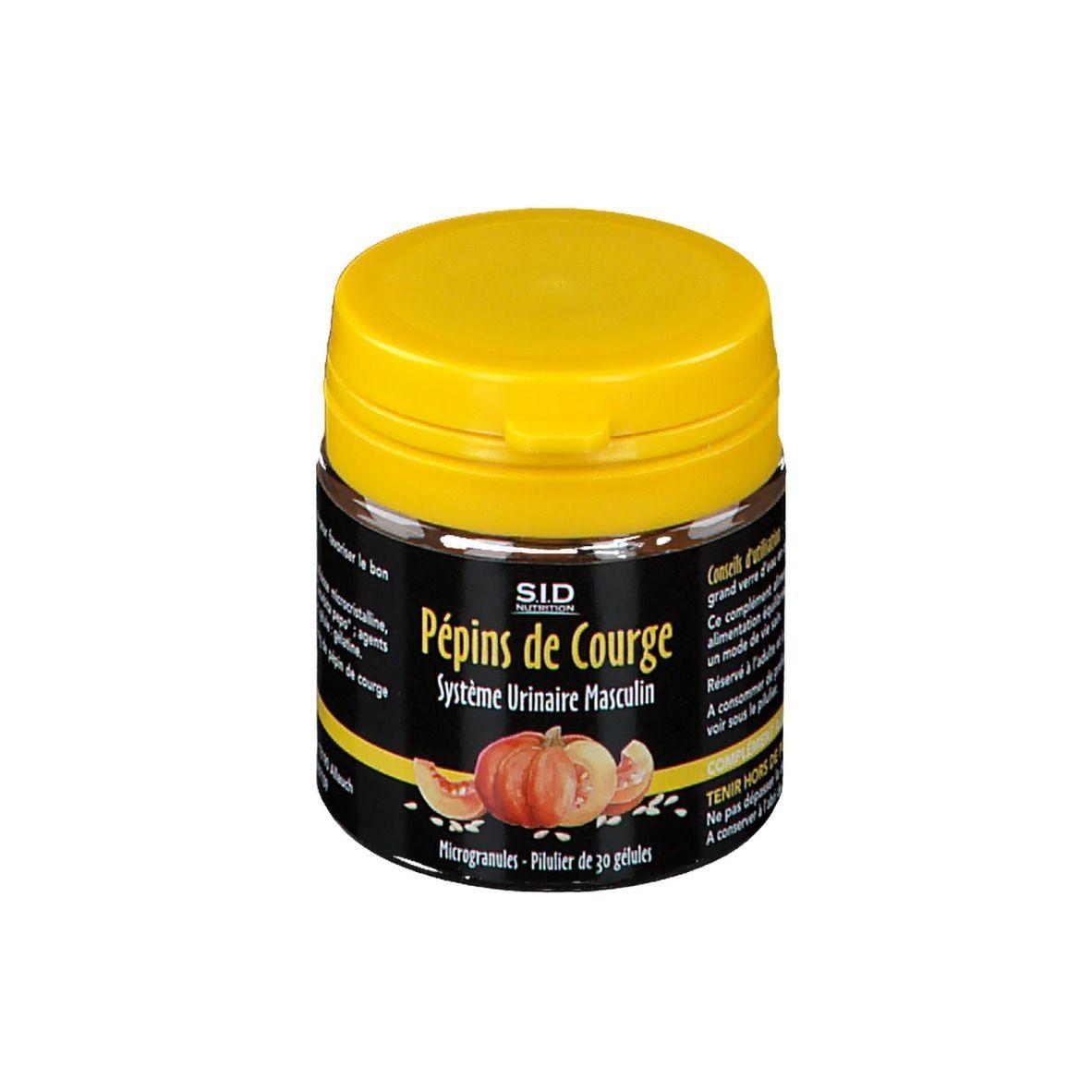 S.i.d Nutrition SID Nutrition Pépins de courge pc(s) capsule(s)
