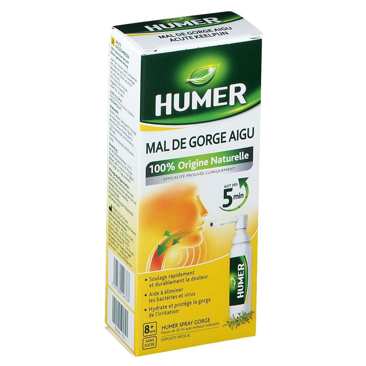 Humer Spray Gorge ml spray