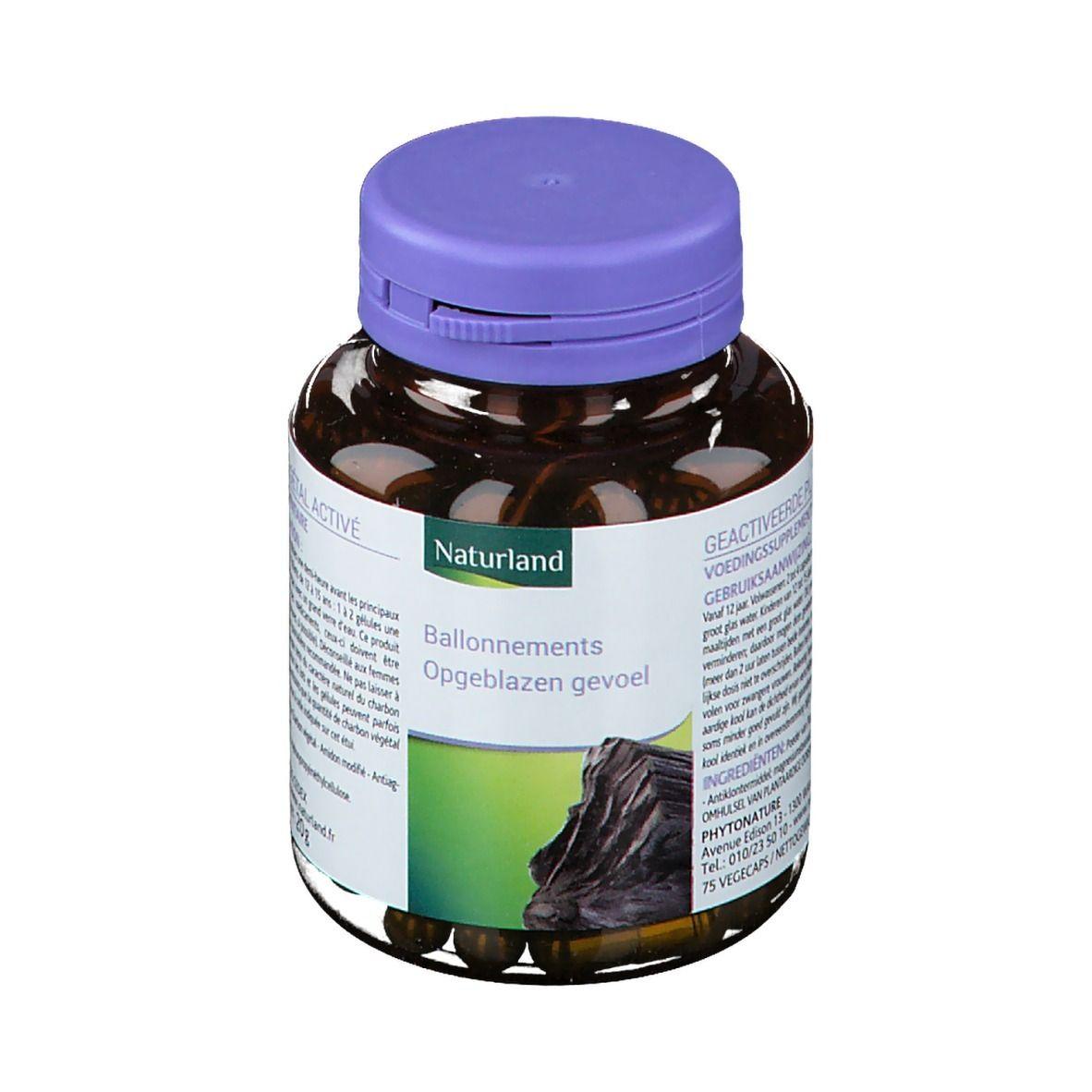 Naturland CHARBON VÉGÉTAL pc(s) capsule(s)