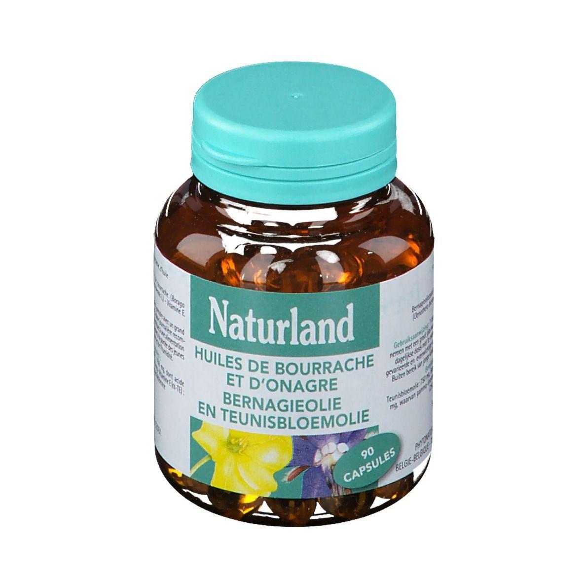 Naturland HUILES DE BOURRACHE ET D'ONAGRE pc(s) capsule(s) douce(s)