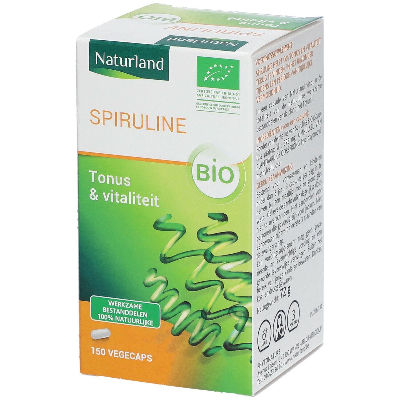 Naturland Spiruline Végécaps® Bio Tonus & Vitalité pc(s) capsule(s)