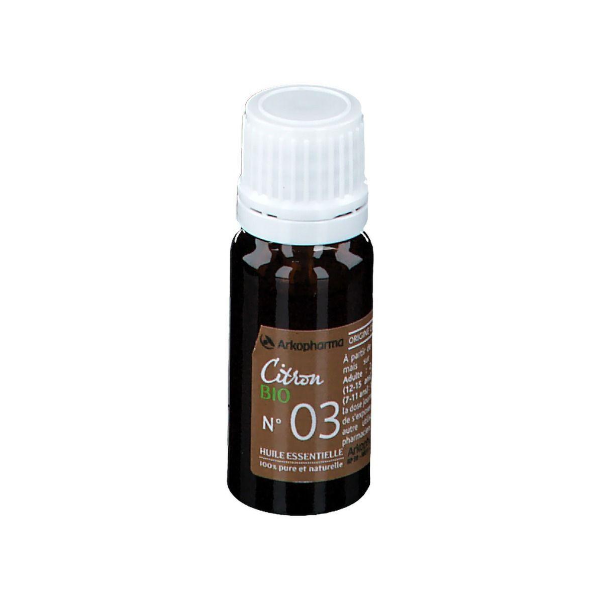 Arkopharma Huile essentielle de Citron BIO ml goutte(s)