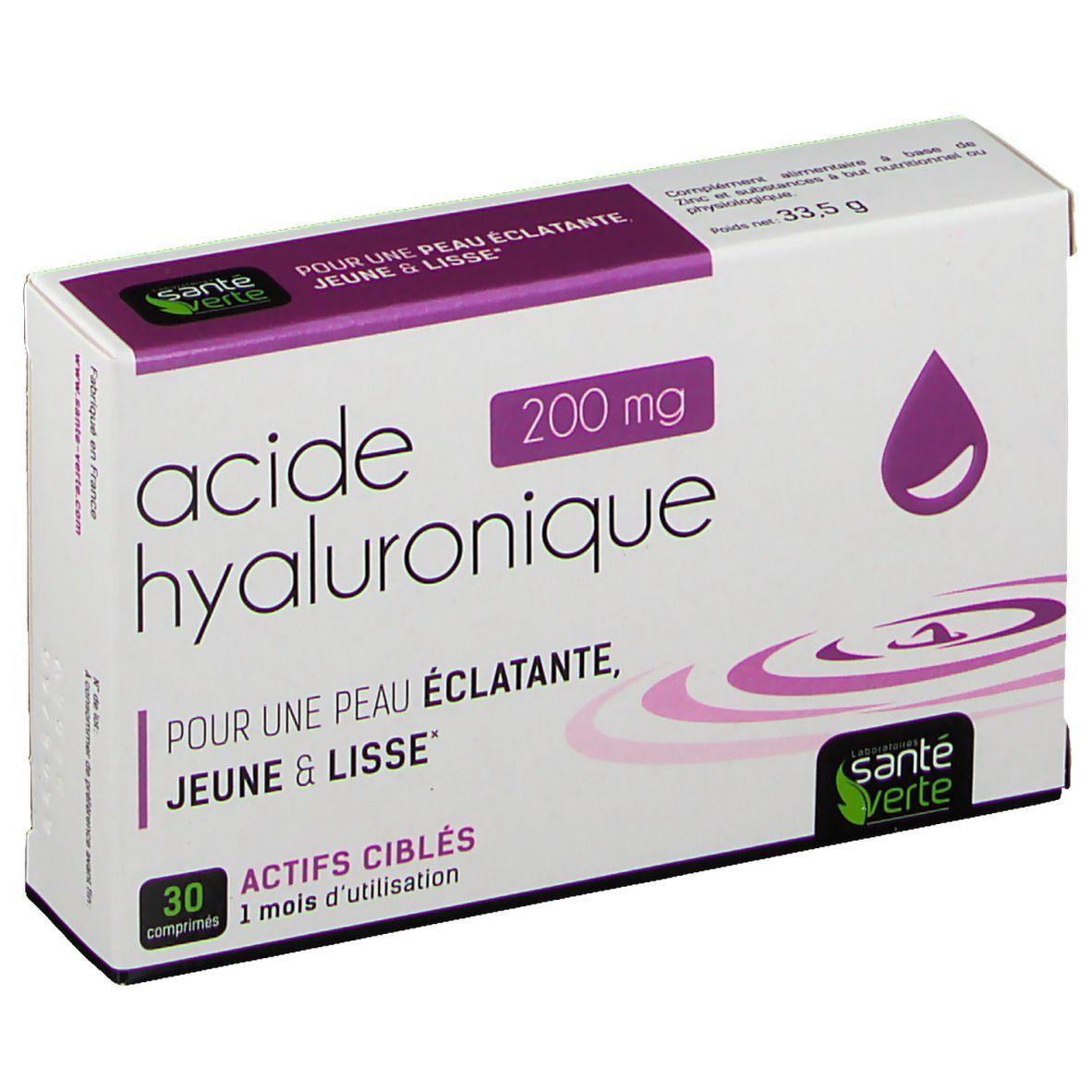 Santé Verte Acide Hyaluronique 200 mg pc(s) comprimé(s)