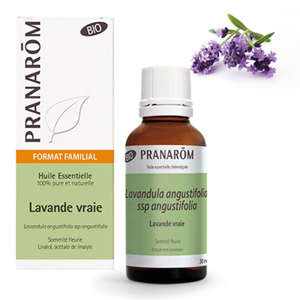 Pranarôm Lavande vraie Huile essentielle Bio ml huile