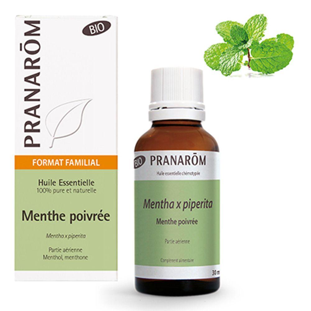 Pranarôm Menthe poivrée Huile essentielle Bio ml huile
