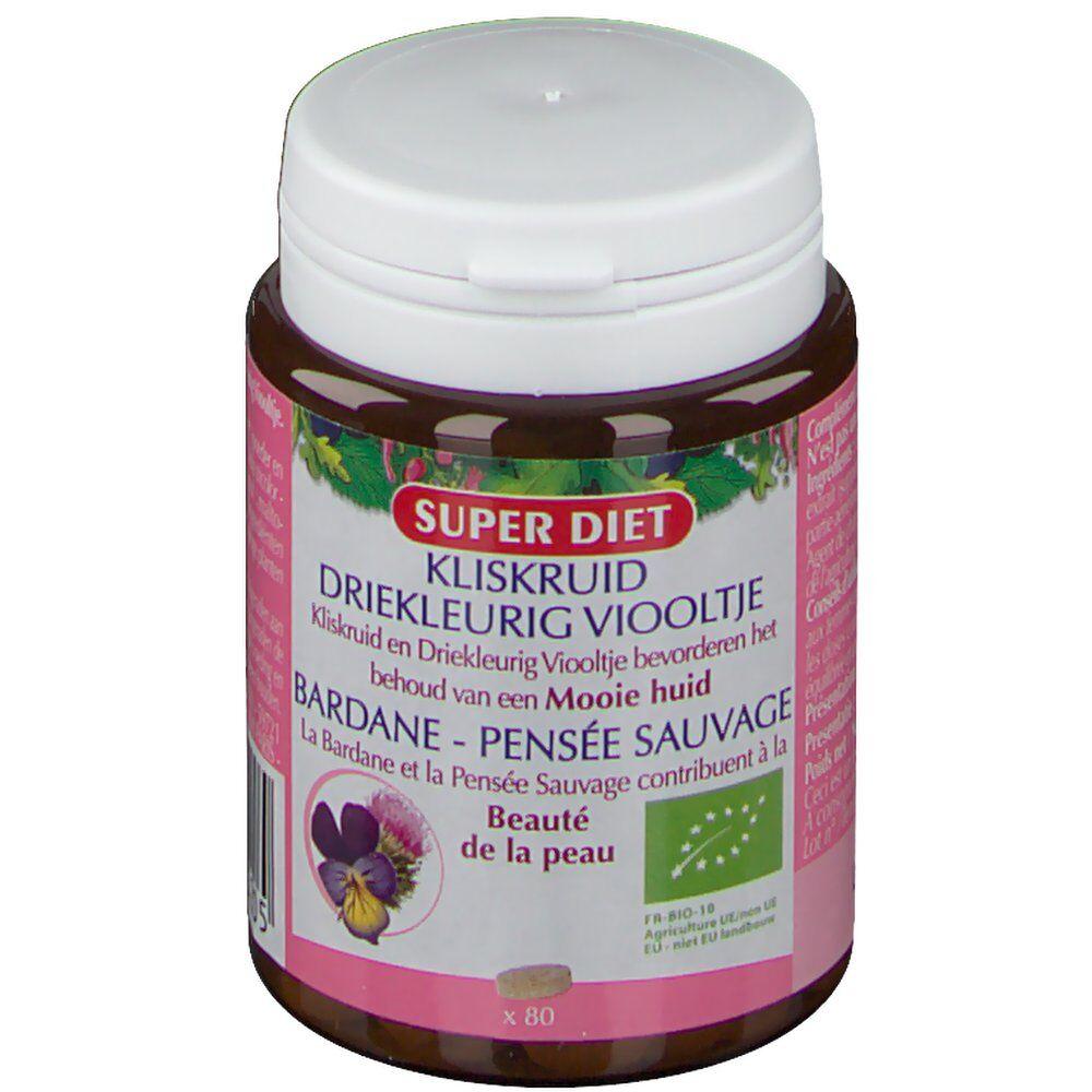 SuperdietLaboratoires SUPER DIET Bardane Pensée Sauvage Bio pc(s) comprimé(s)