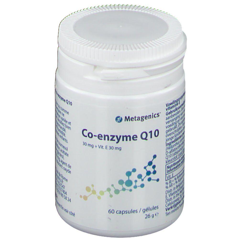 MetagenicsBelgium Coenzyme Q10 + Vitamine E 30mg pc(s) capsule(s)
