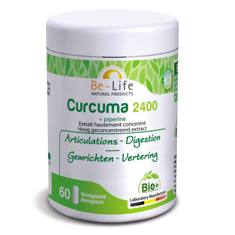 BIOLife Be-Life Curcuma + Piperine Bio pc(s) capsule(s)