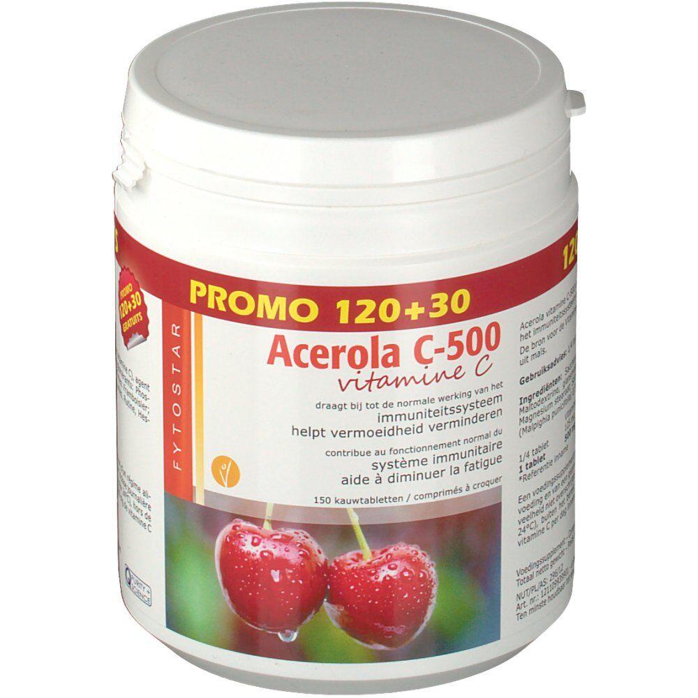 OmegaOTC Fytostar Vitamine C-500 Acerola pc(s) comprimé(s)