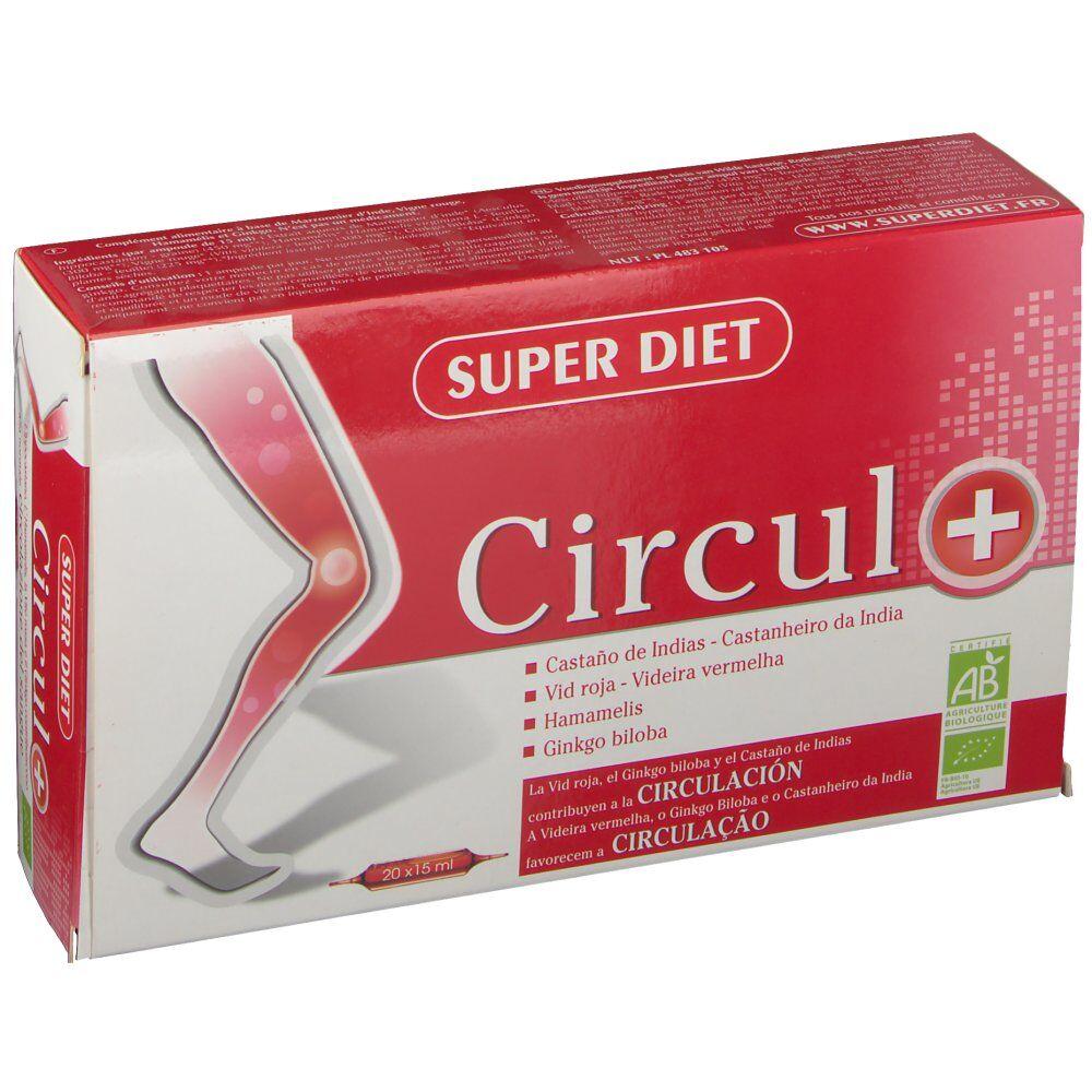 SuperdietLaboratoires SUPER DIET Circul+ Bio ml ampoule(s) buvable(s)