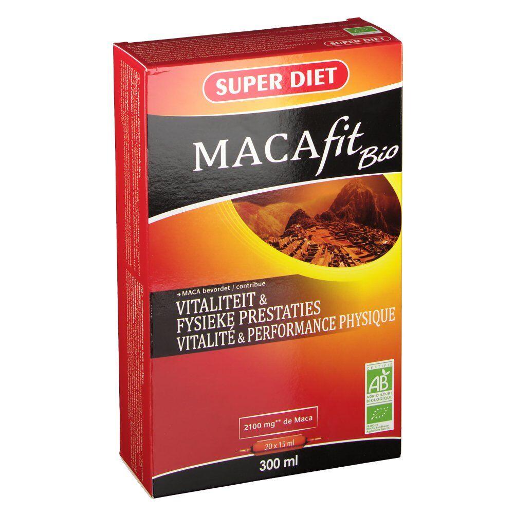 SuperdietLaboratoires Macafit Bio ml ampoule(s) buvable(s)