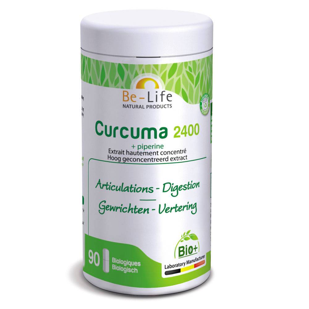 Be-Life Curcuma 2400 + Piperine pc(s) capsule(s)