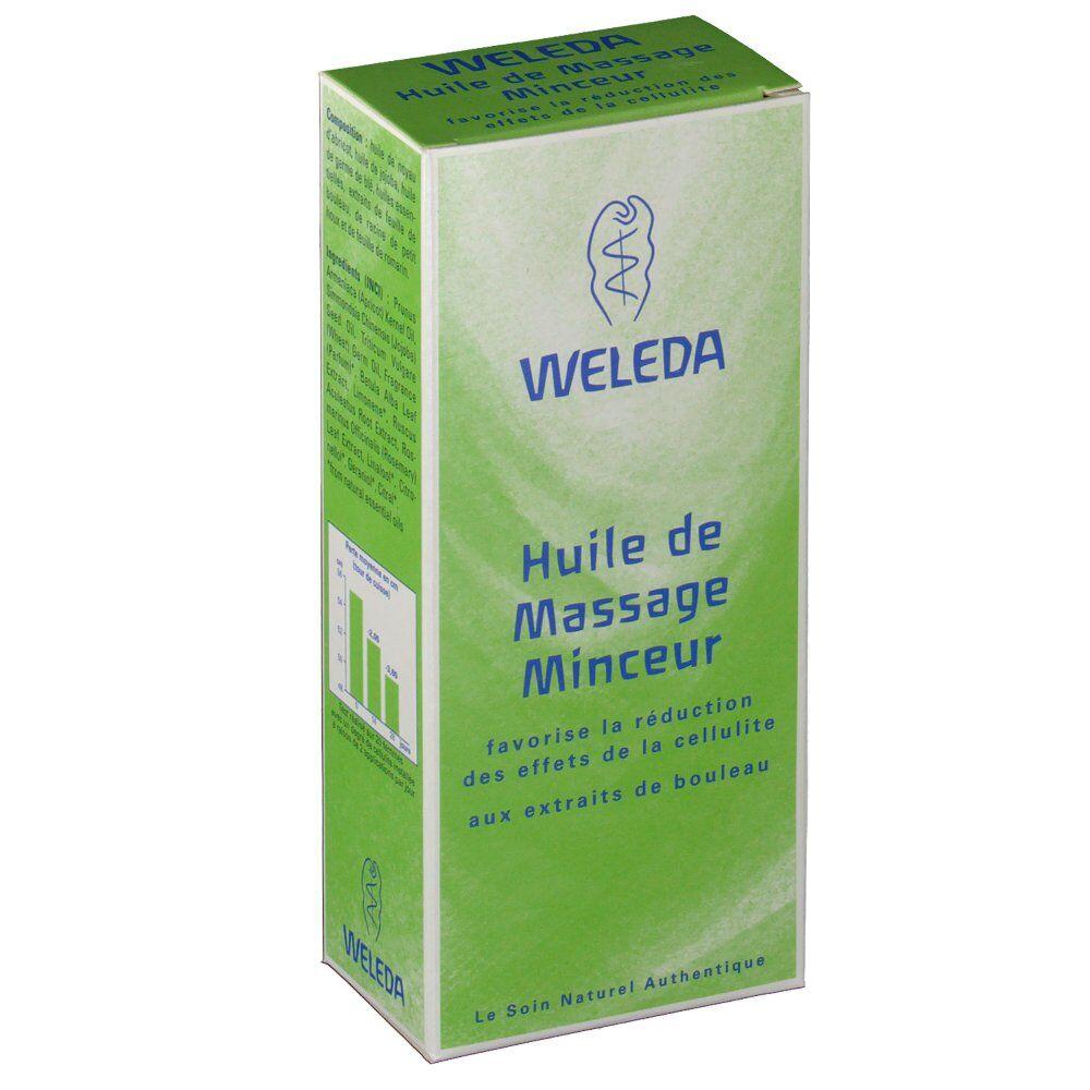 Weleda huile de massage minceur ml huile