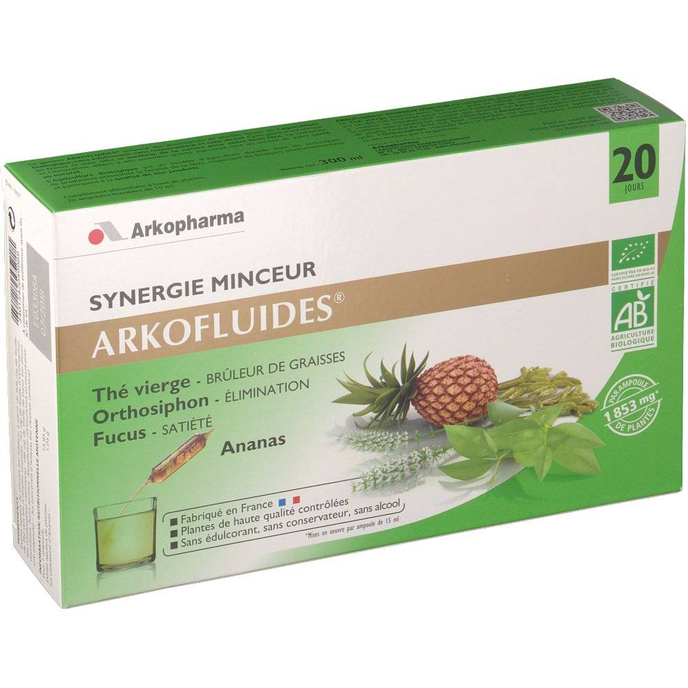 Arkopharma Arkofluides bio synergie minceur ml ampoule(s)