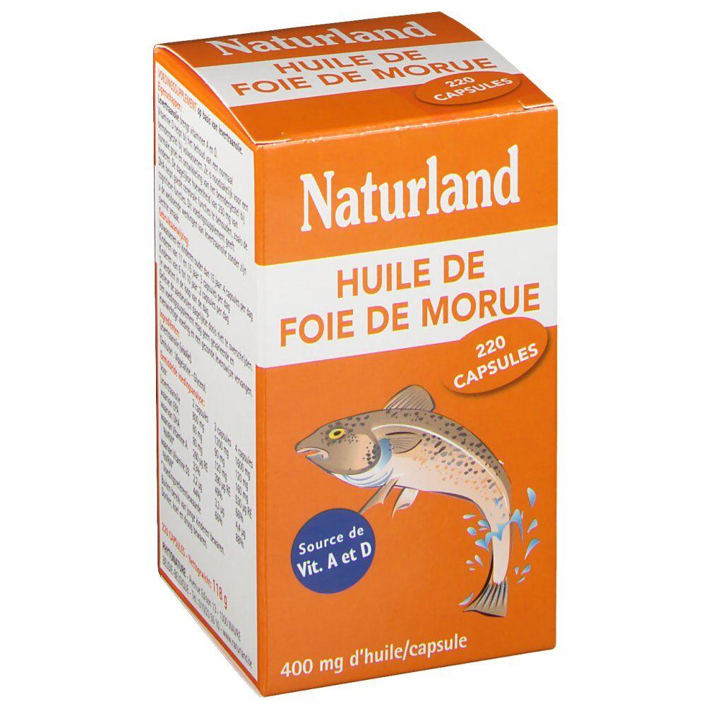 Naturland HUILE DE FOIE DE MORUE pc(s) capsule(s)