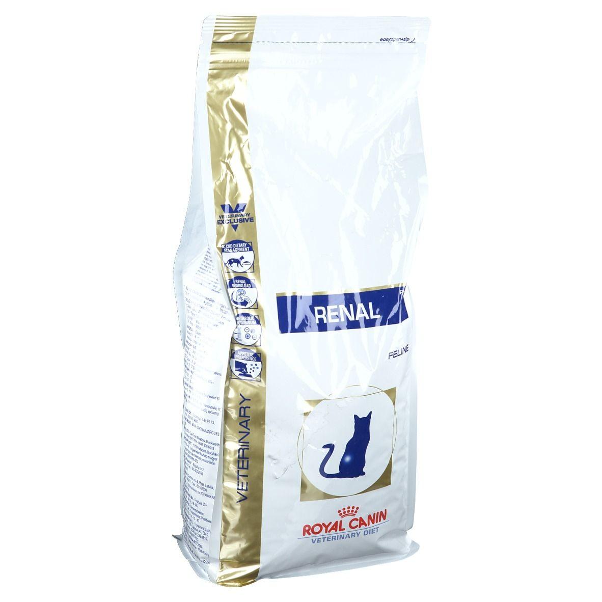 Royal Canin Vet Chat Renal kg alimentation pour animal