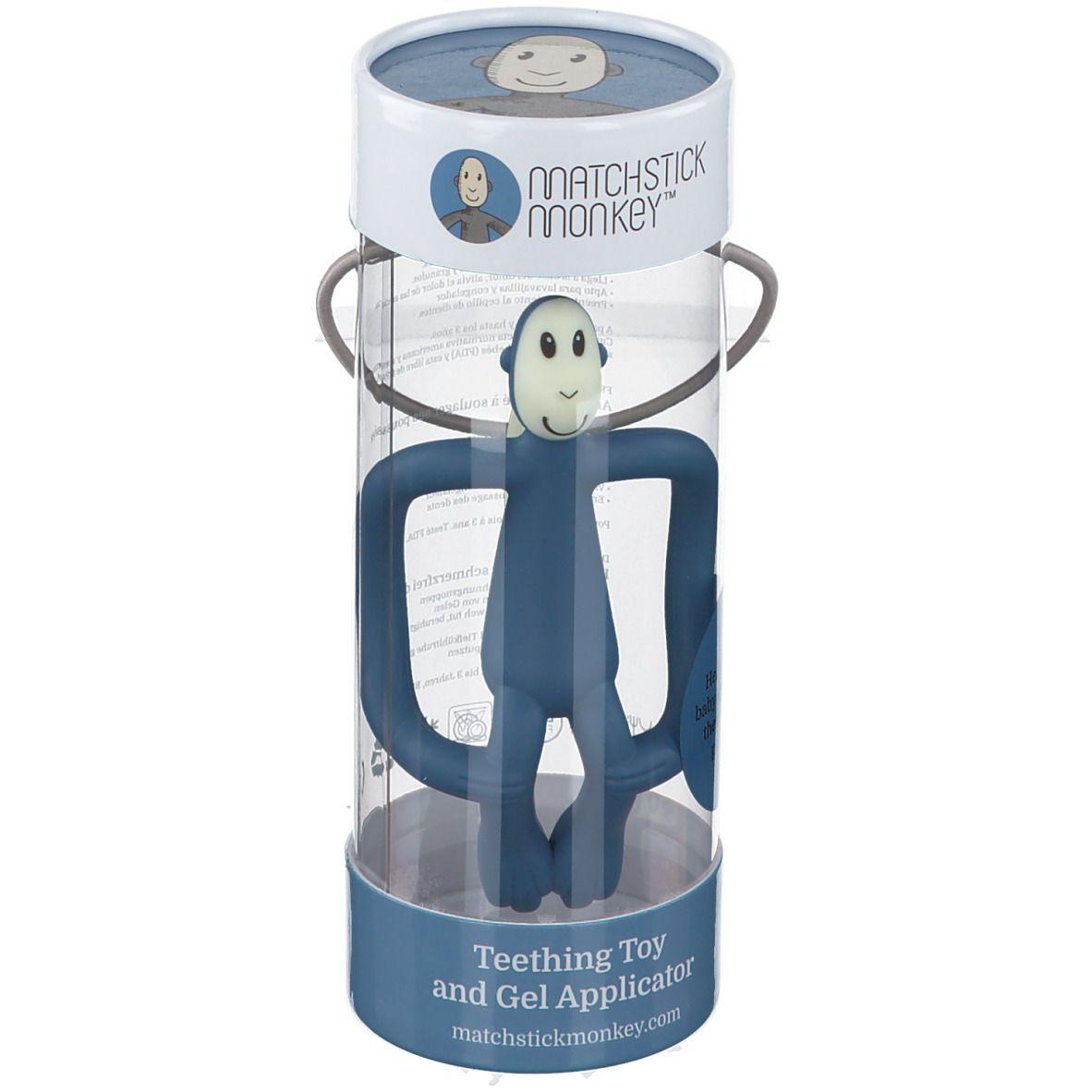 Avent Matchstick Monkey Anneau de dentition Bleu ciel pc(s) anneau(x) de dentition