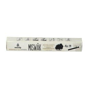 Woody Miswak Brosse à dents en bois d'araq pc(s) brosse(s) à dents - Publicité