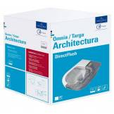 Villeroy & Boch Villeroy & Boch Architectura - Cuvette suspendue à fond creux PACK WC avec DirectFlush blanc avec CeramicPlus