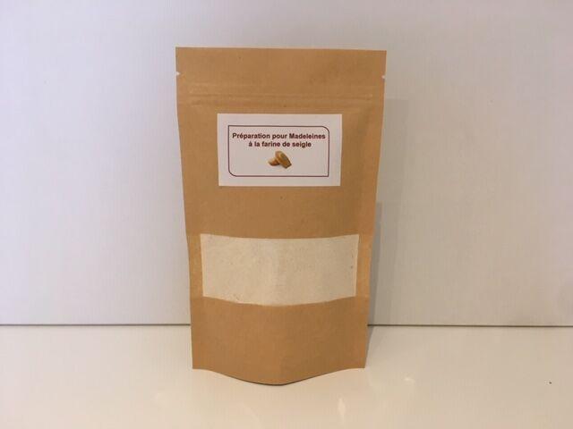 MADE IN FRANCE BOX Prepa pour madeleines à la farine de seigle