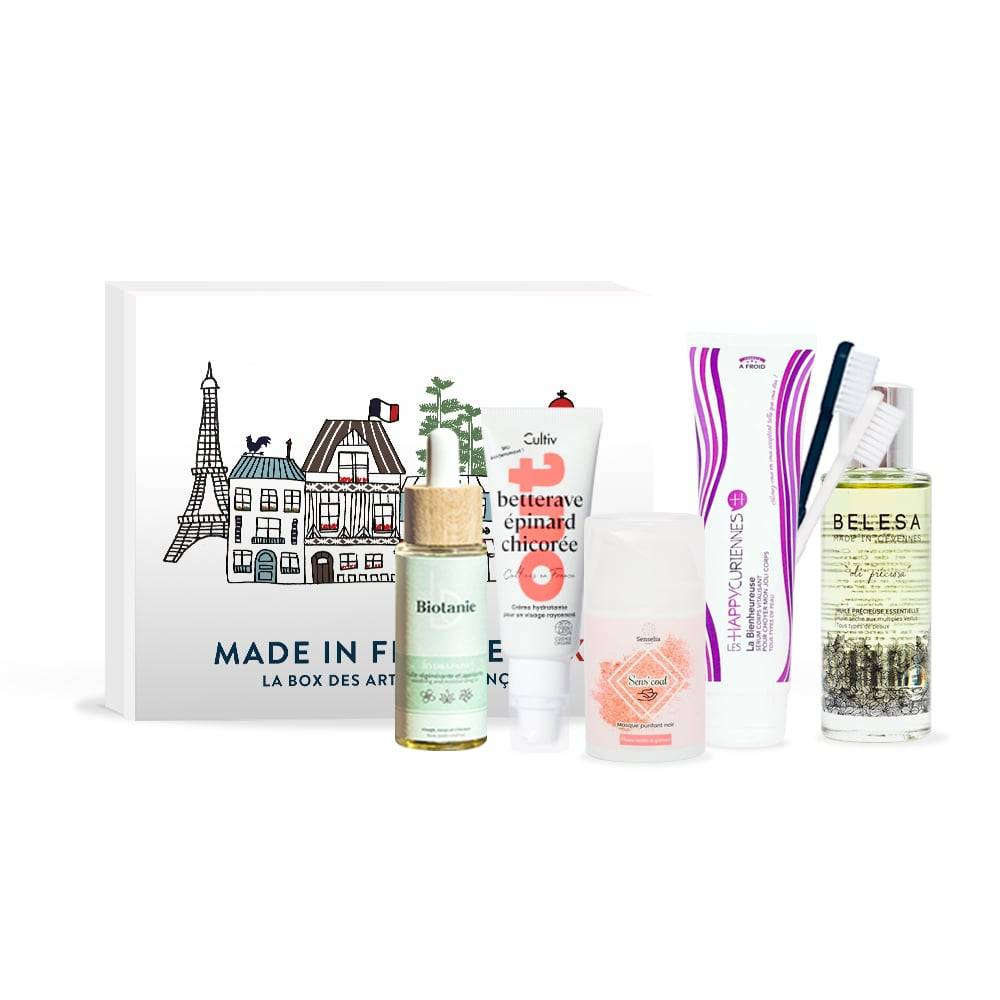 MADE IN FRANCE BOX Box Immersion Cosmétiques mixtes duo cocooning