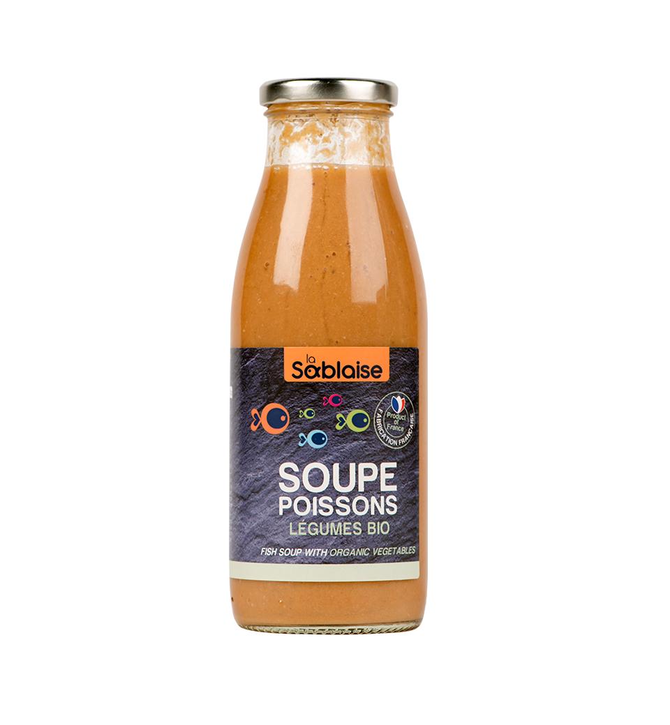 MADE IN FRANCE BOX Soupe de Poissons aux légumes BIO