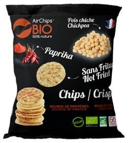 MADE IN FRANCE BOX Chips pois chiche & Paprika BIO