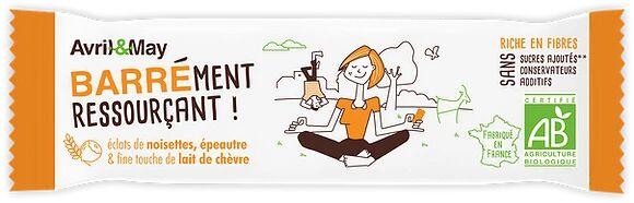 MADE IN FRANCE BOX BARRE AU LAIT DE CHEVRE EPEAUTRE NOISETTE